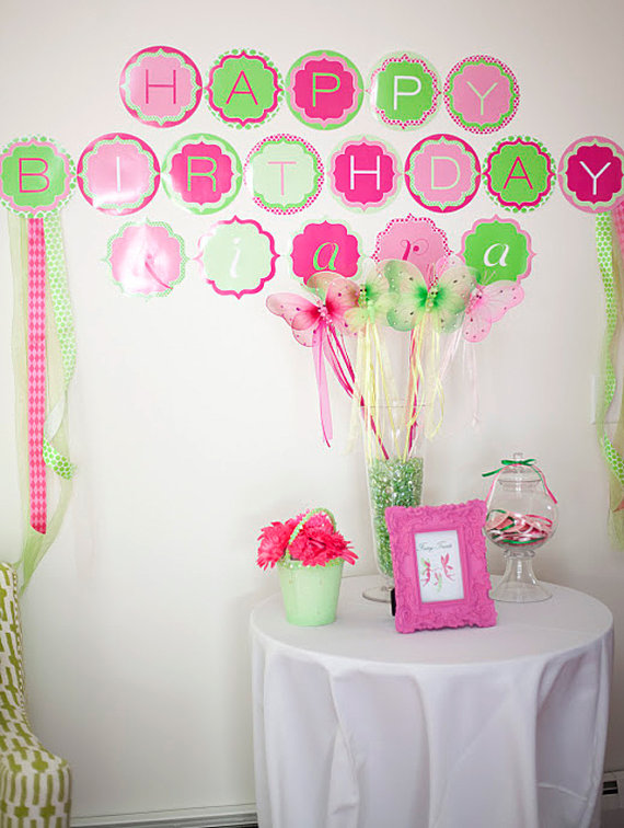 Free Printable Princess Birthday Party Banner