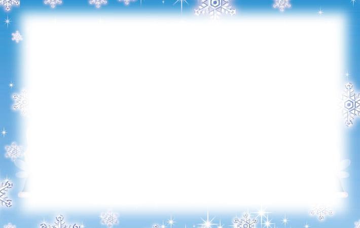 Free Printable Snowflake Borders