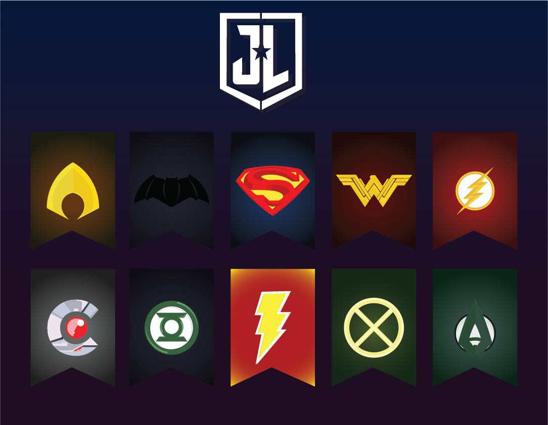 Printable Superhero Banner