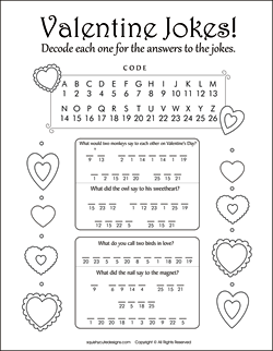 7 Images of Printable Valentine Coloring Activities