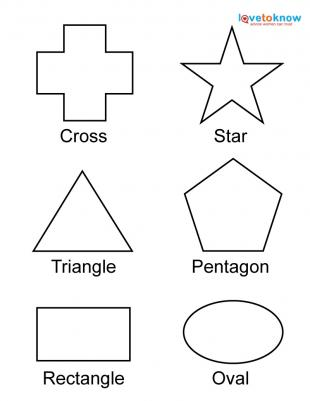 7 Images of Free Printable Shapes Toddlers