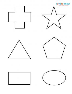 Number Names Worksheets » Printables Shapes - Free Printable ...