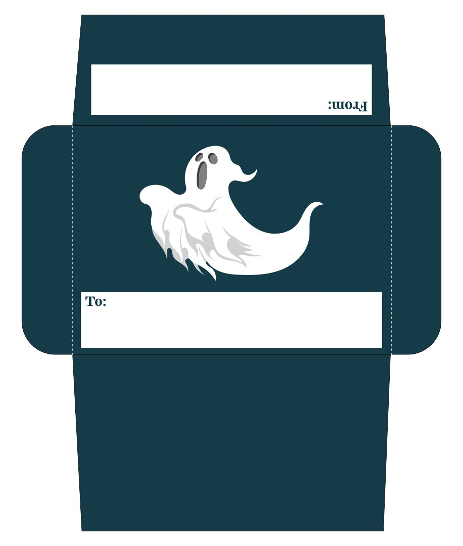 Halloween Envelope Printable