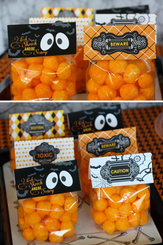 5 Images of Printable Pumpkin Poop Cheese Balls
