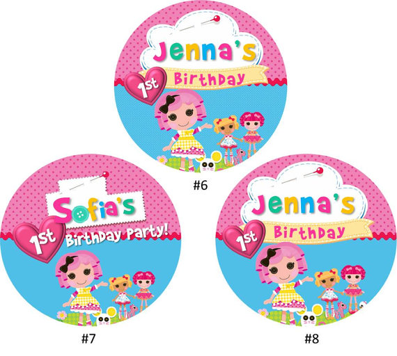 Lalaloopsy Printable Cupcake Toppers