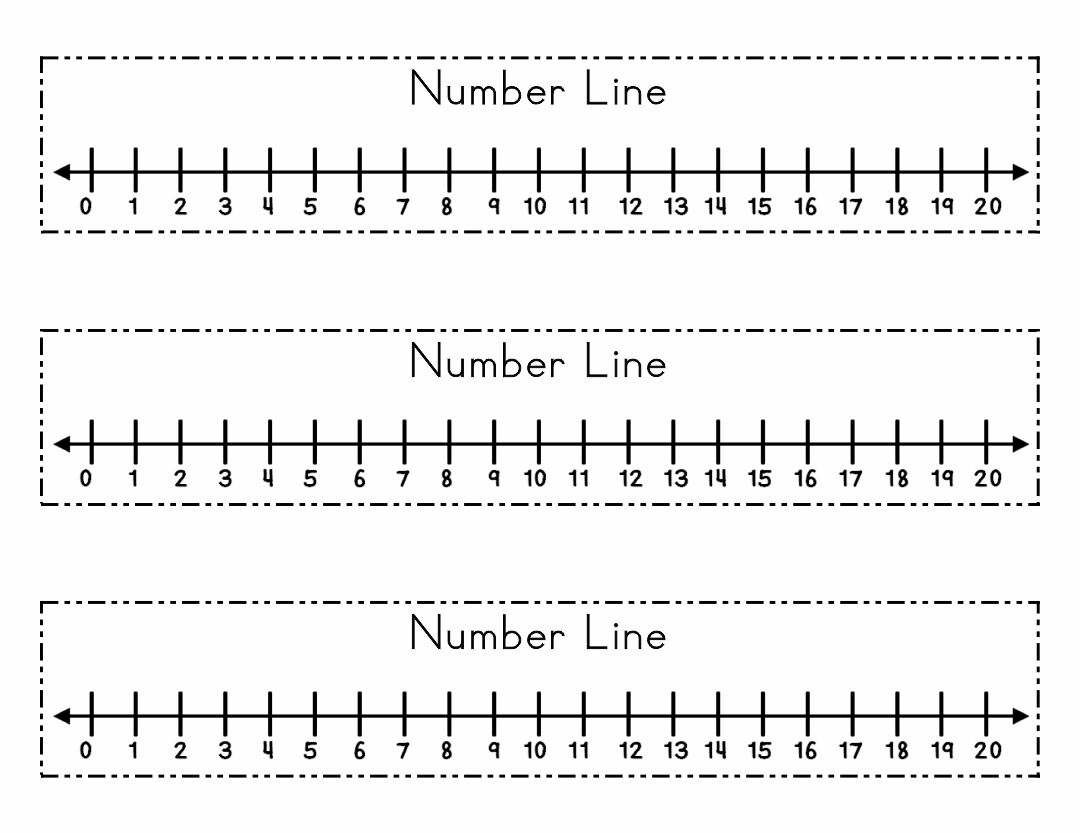 Intrepid image for printable number line 1 20