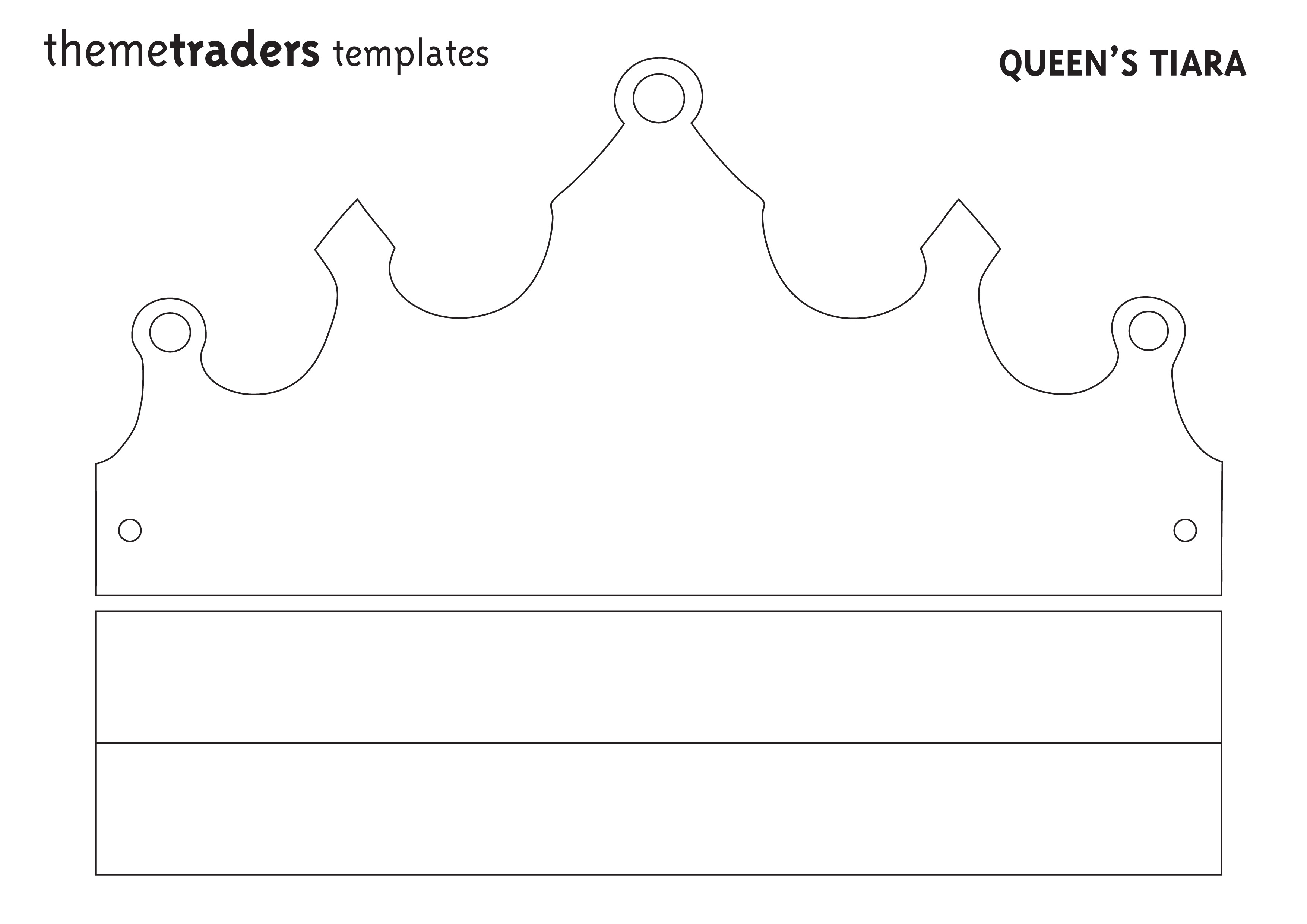 4 Images of Printable Crown Cut Out