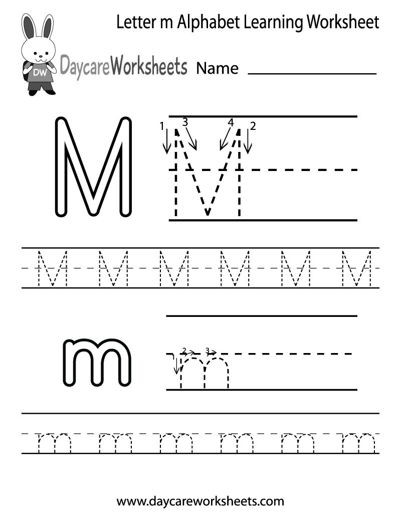 Worksheet Writing The Letter M letter writing for kindergarten worksheets basic handwriting free printable letters worksheets