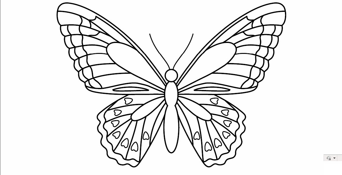 5 Best Images of Butterfly Template Printable - Printable ...