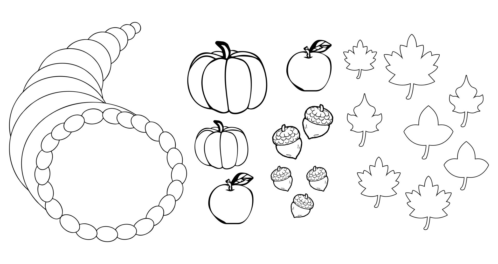 Free Printable Fruit And Vegetable Templates