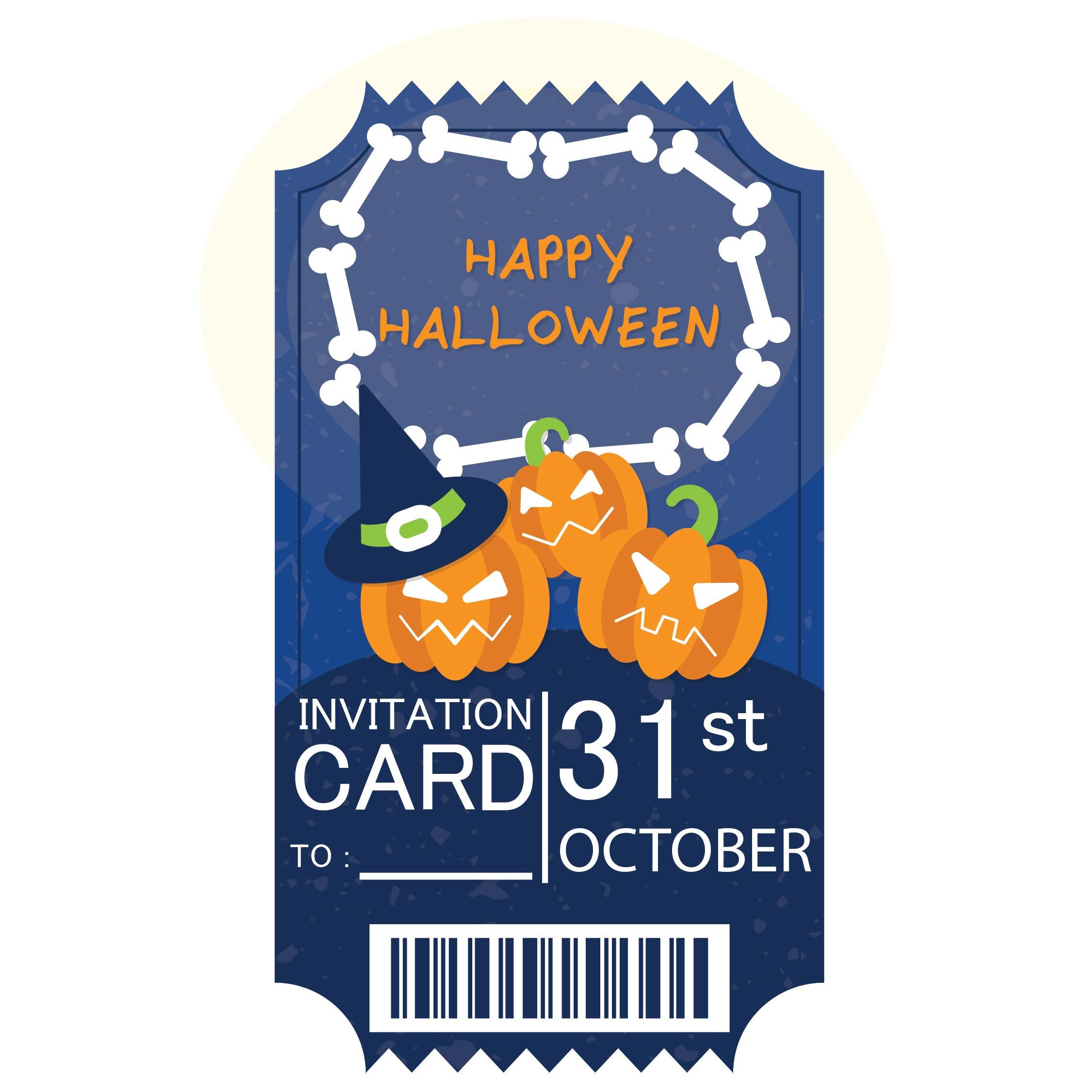 Printable Halloween Invitations Templates