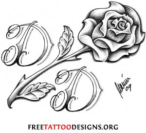 8 Images of Printable Roses Designs