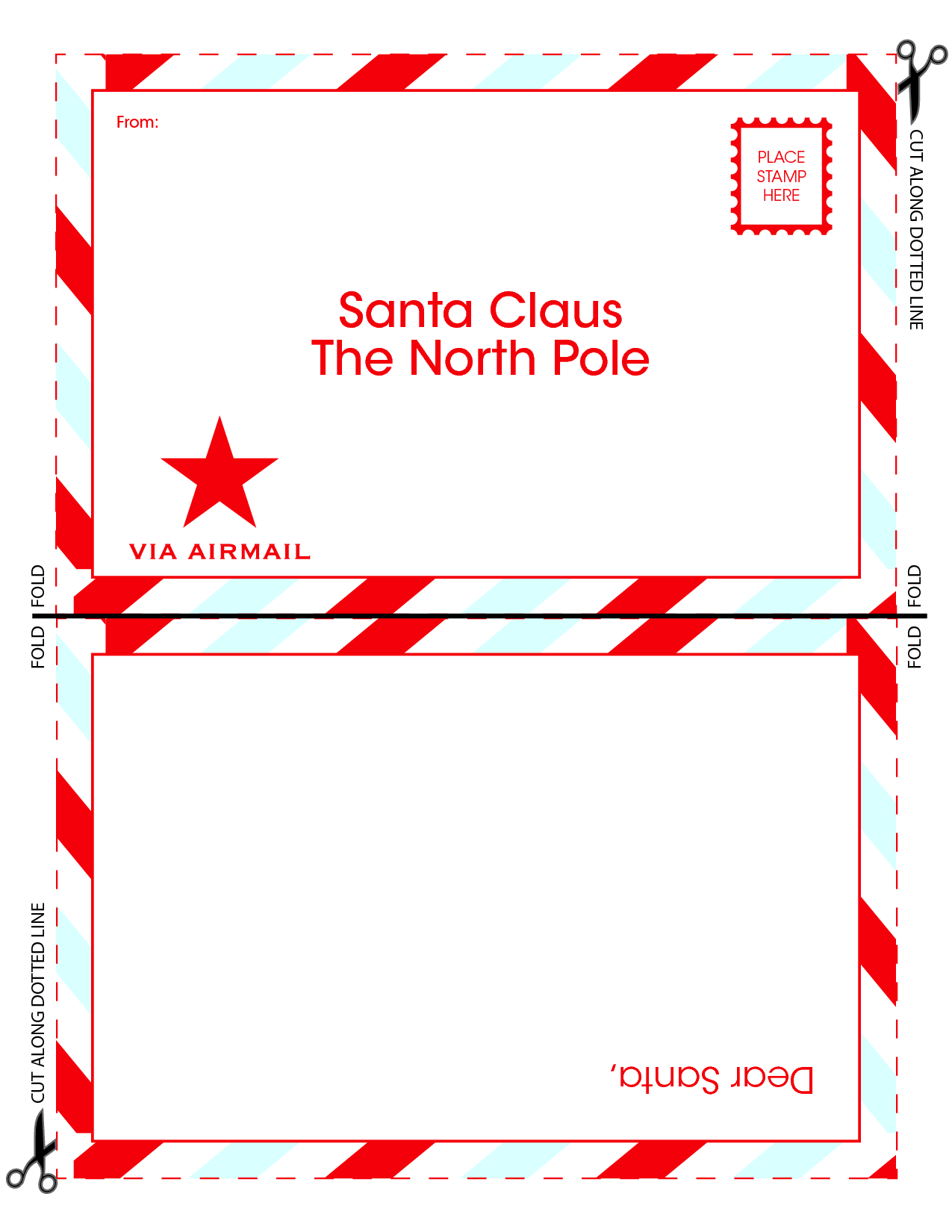 8 best images of santa claus letter template printable santa claus santa claus christmas list