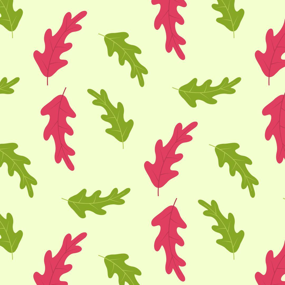 Simple Oak Leaf Pattern