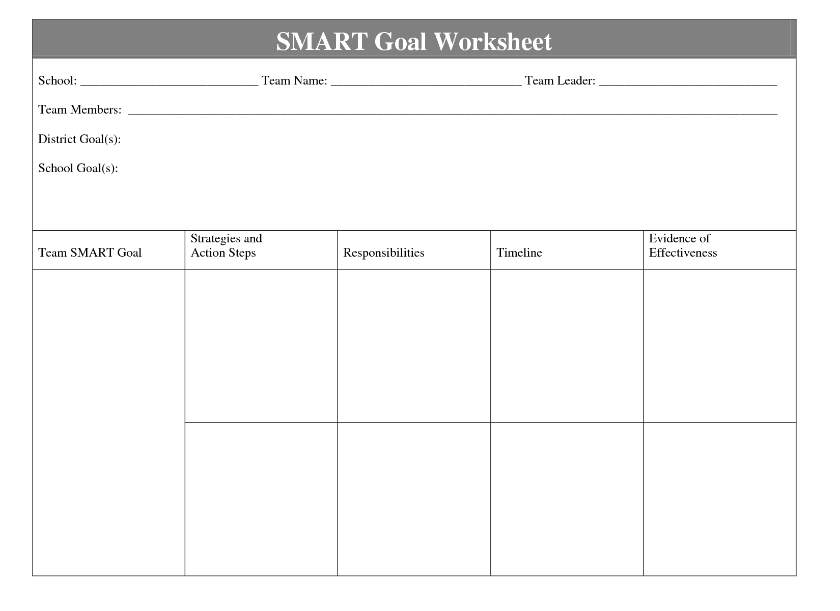 worksheet Smart Goal Setting Worksheets smart goal setting worksheet template goals davezan
