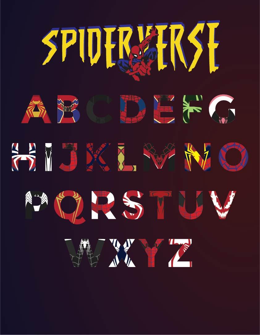 Superhero Alphabet Letters Printable
