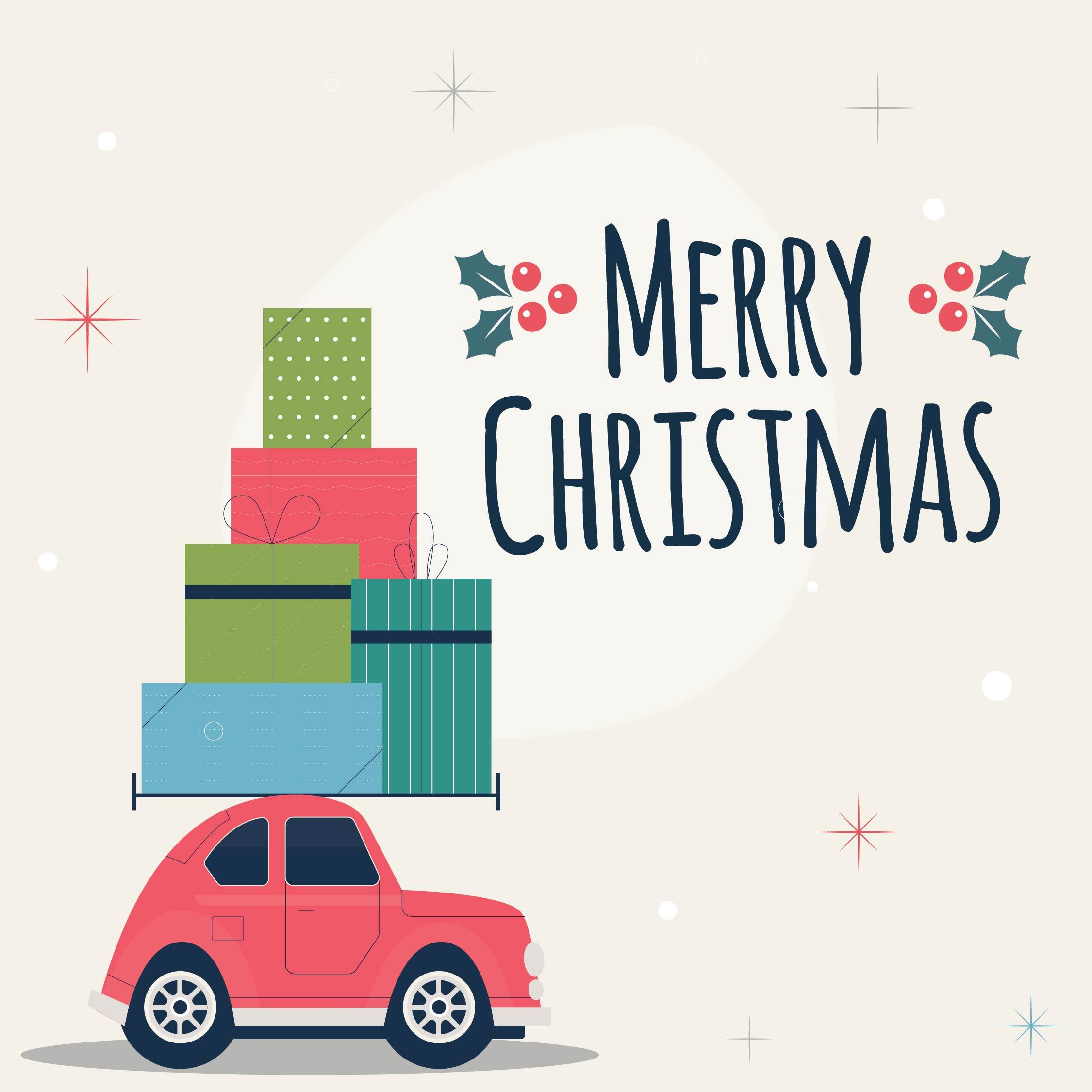 Thanks a Latte Teacher Gift Tags Christmas Cards