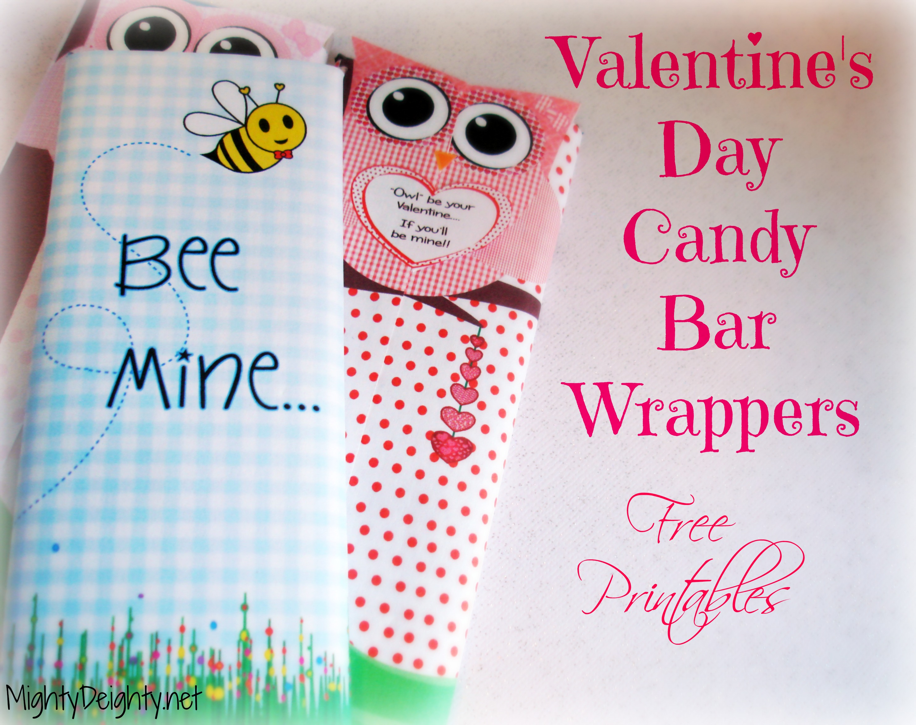 8 Images of Free Printable Candy Wrapper Paper