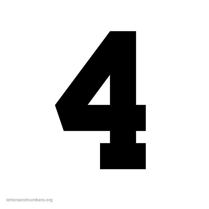 5 Best Images Of Printable Varsity Number 8