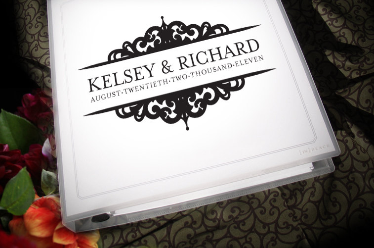 7 best images of wedding binder free cover printable for Diy wedding binder templates