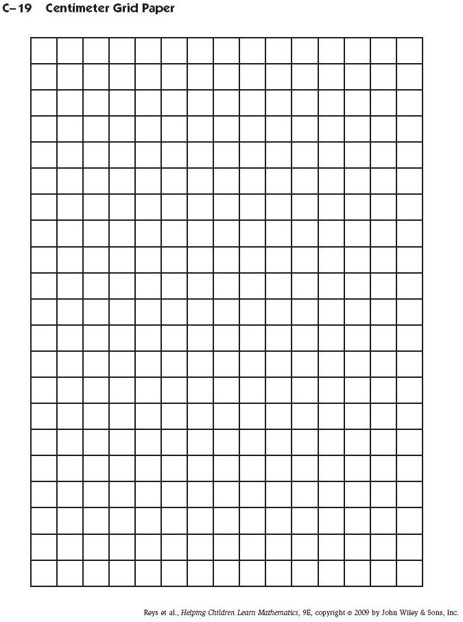 7 Images of Printable Centimeter Grid Paper