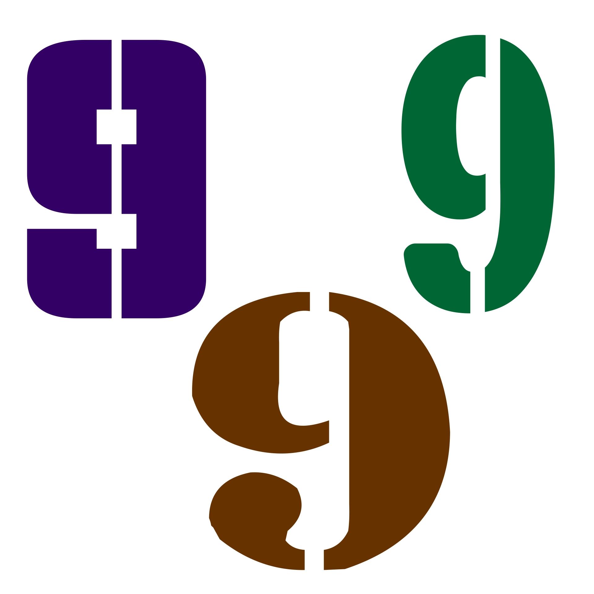 3 Inch Number Stencils 9