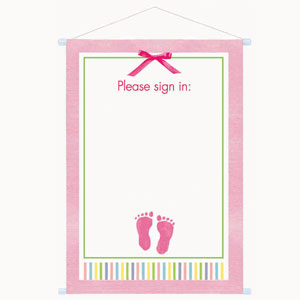 This is an image of Gutsy Free Printable Baby Shower Guest Sign in Sheet