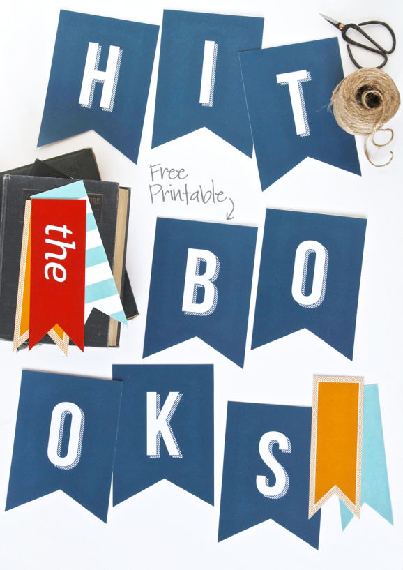5 Images of Back To School Printable Banner