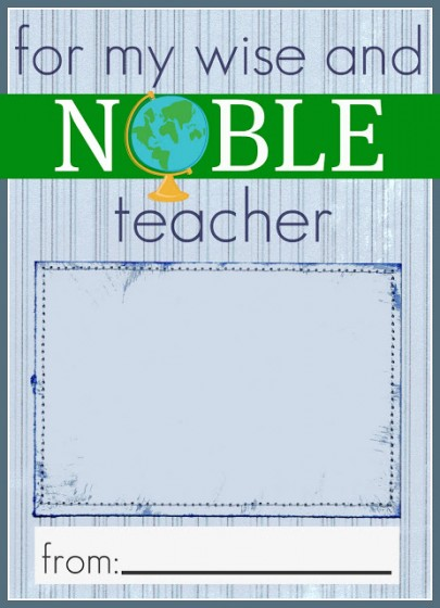 7 Images of Barnes Noble Gift Card Teachers Printables