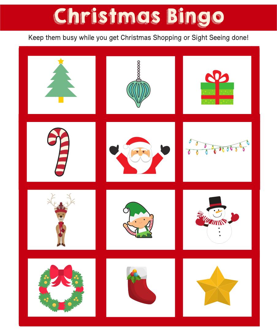 Bingo Printable Christmas Tree