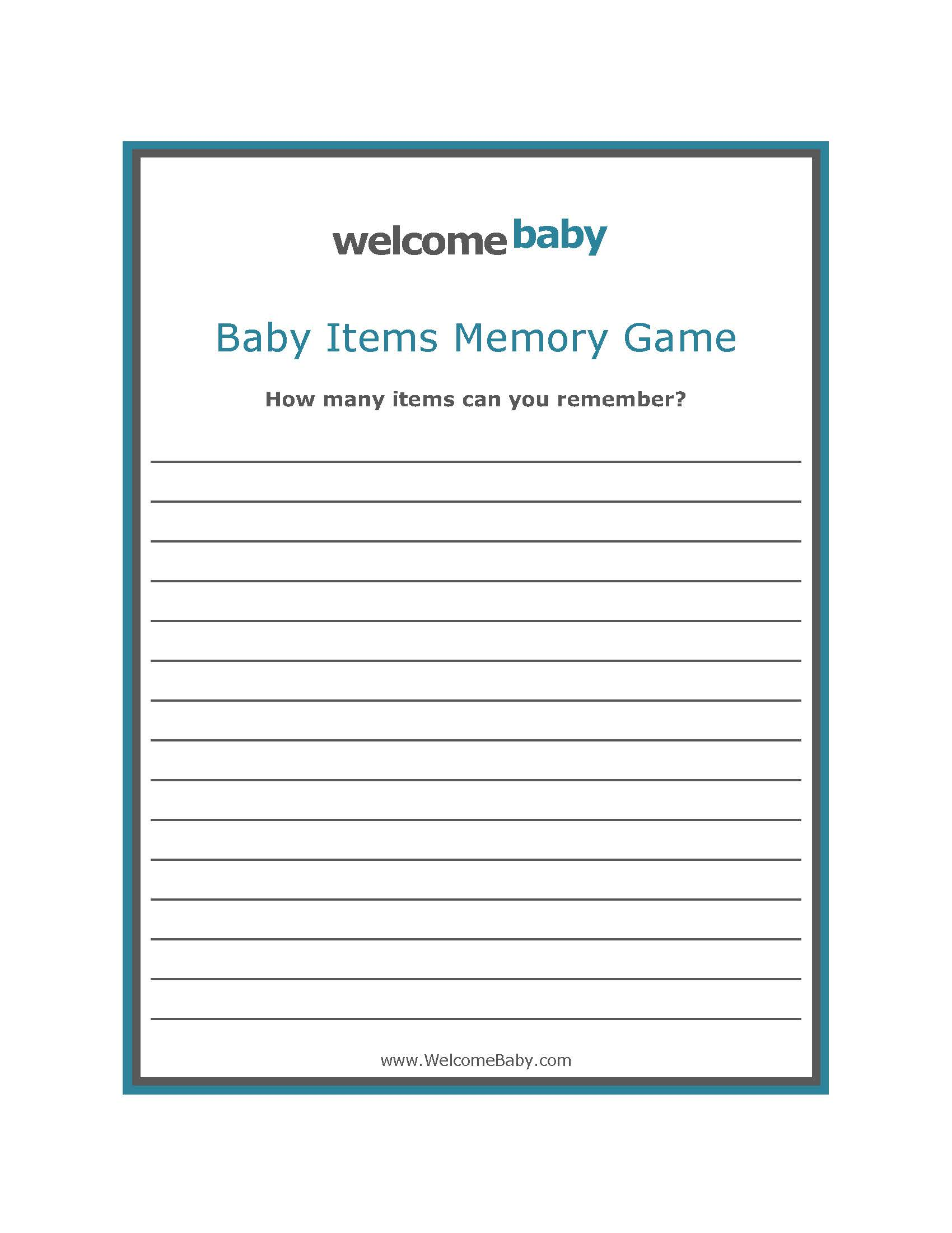 7 best images of free printable baby shower sign in sheet for Baby shower game booklet template