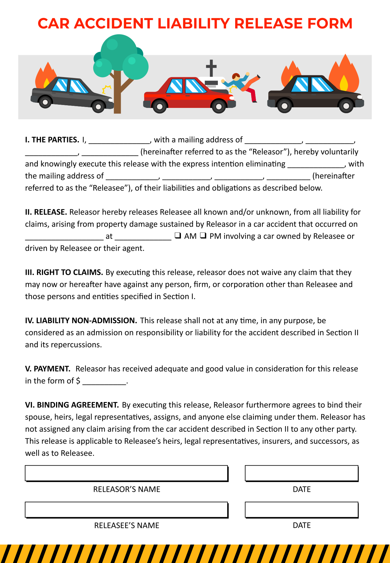 4 Best Images Of Free Printable Medical Release Forms
