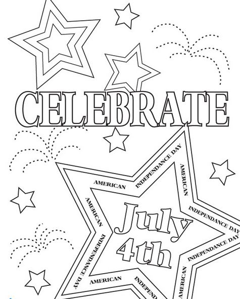 7 best images of 4th of july book printable fourth of for 4th of july fireworks coloring pages