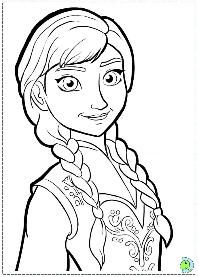 Disney Frozen Coloring Pages Printable