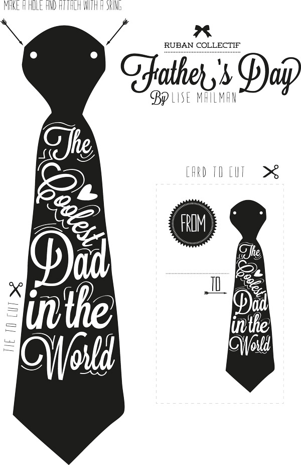 8 Images of Cool Printable Father's Day Cards