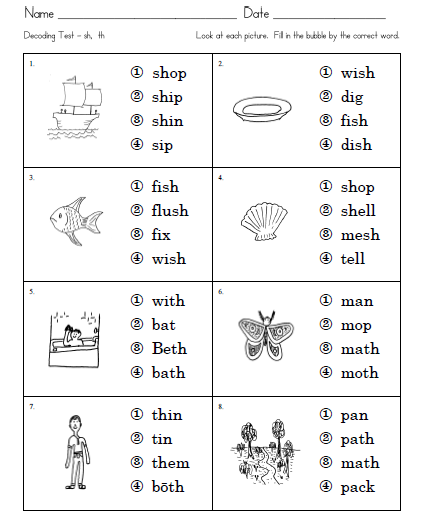 1st grade printable reading games