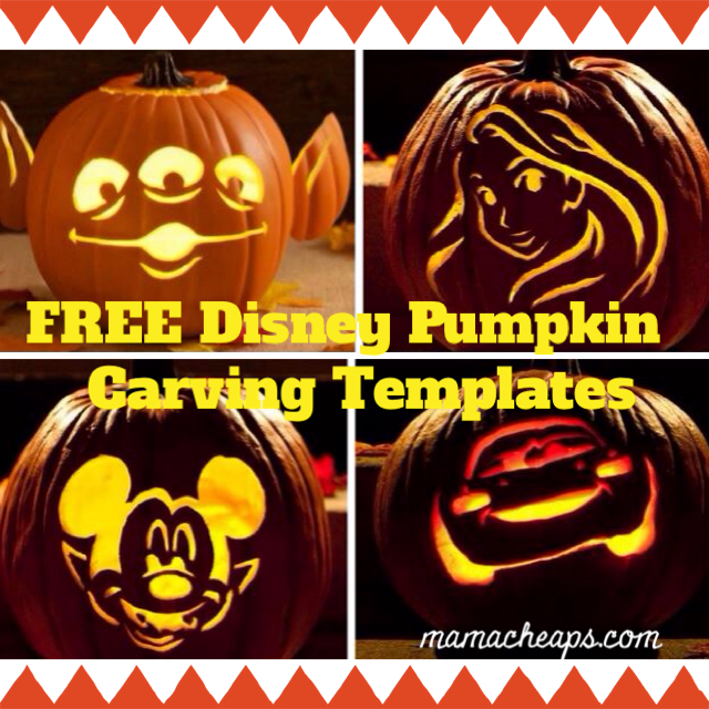 7 Images of Free Printable Disney Pumpkin Carving Templates