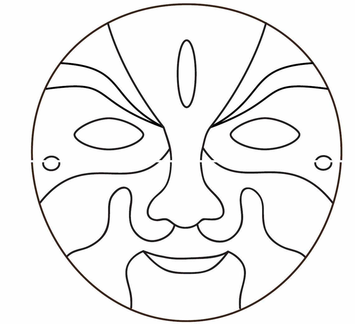 5 Images of Printable Mask Patterns