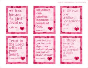 9 Images of Printable Valentine Cards Tweens