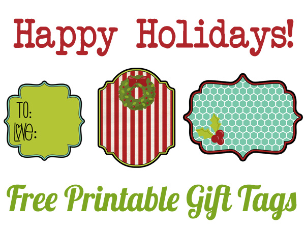 4 Images of Printable Christmas Gift Tags Spider-Man