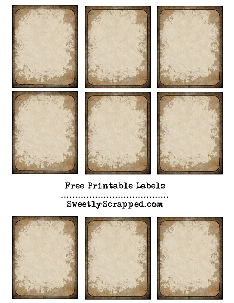 9 best images of vintage book labels free printable free for Free downloadable labels template