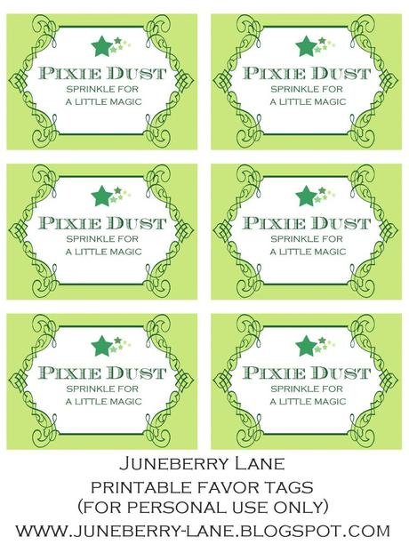 7 Images of Free Printable Fairy Dust