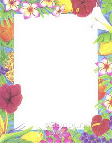 8 Images of Luau Template Free Printable Stationery