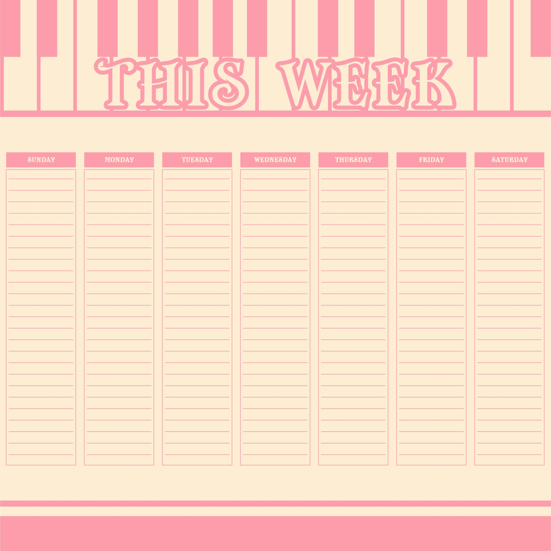 of Cute To Do List Printable Template - Free Cute Printable to Do List ...