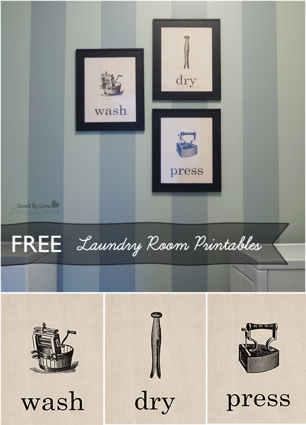 6 Images of Free Printable Vintage Laundry