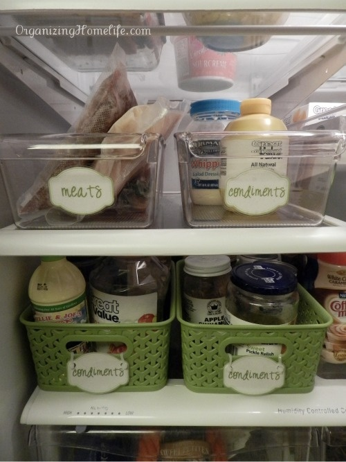 4 Images of Fridge Organizing Printable Labels