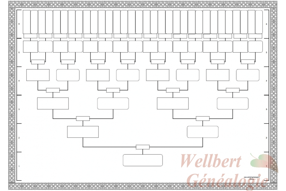 7 best images of family tree outline printable printable With 11 generation family tree template