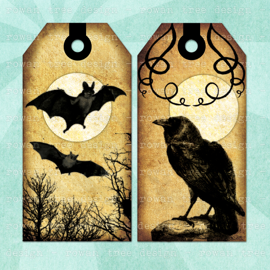 9 Images of Goth Bookmark Printable