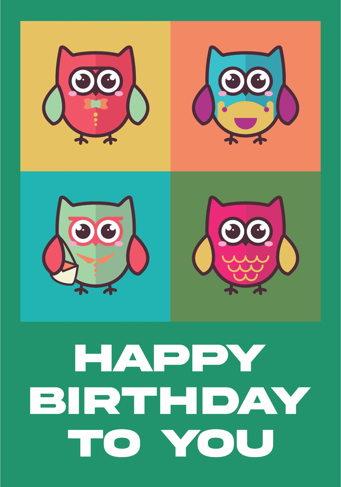 Happy Birthday Cards Printable