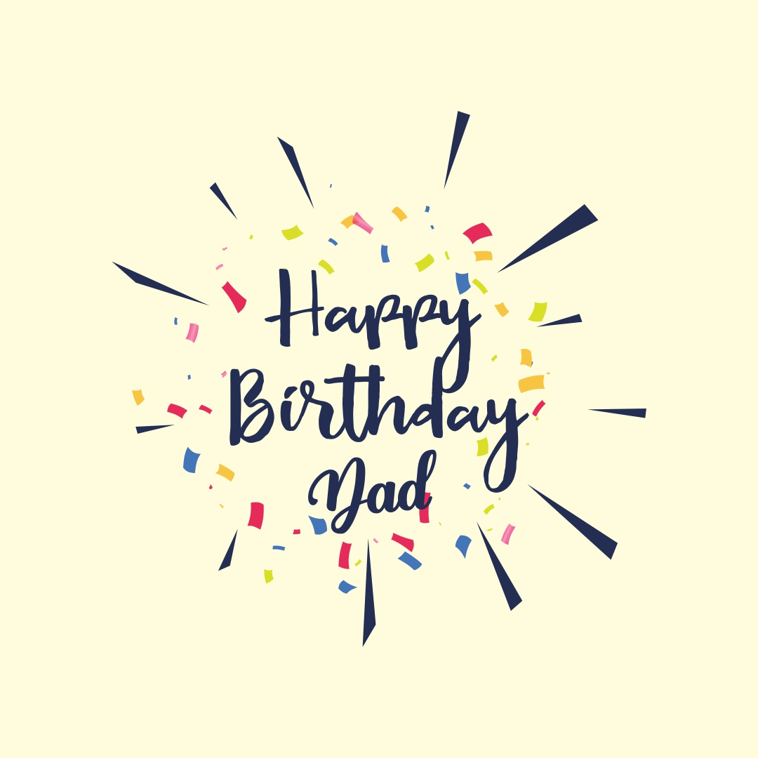 Happy Birthday Dad Cards Printable